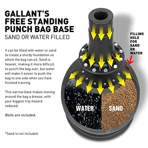 Sand Filled Gallant Free Standing Punch Bag